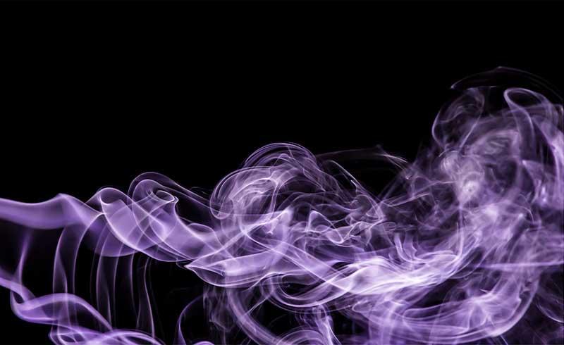 Purple smoke photography tutorial